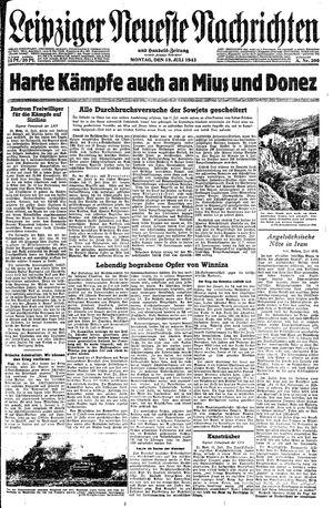 Leipziger neueste Nachrichten und Handelszeitung  on Jul 19, 1943