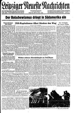 Leipziger neueste Nachrichten und Handelszeitung  vom 30.07.1943