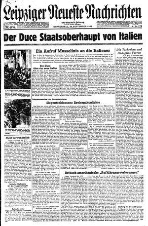Leipziger neueste Nachrichten und Handelszeitung  vom 30.09.1943