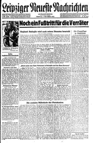 Leipziger neueste Nachrichten und Handelszeitung  vom 01.10.1943