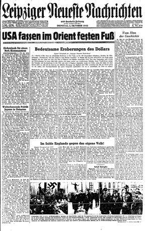 Leipziger neueste Nachrichten und Handelszeitung  vom 05.10.1943