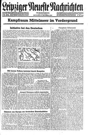 Leipziger neueste Nachrichten und Handelszeitung  vom 06.10.1943