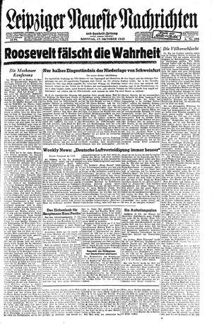 Leipziger neueste Nachrichten und Handelszeitung  on Oct 17, 1943