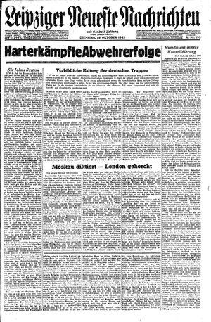 Leipziger neueste Nachrichten und Handelszeitung  vom 19.10.1943