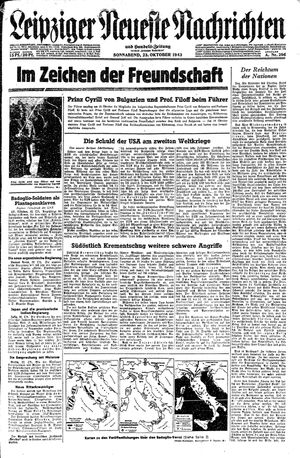 Leipziger neueste Nachrichten und Handelszeitung  on Oct 23, 1943