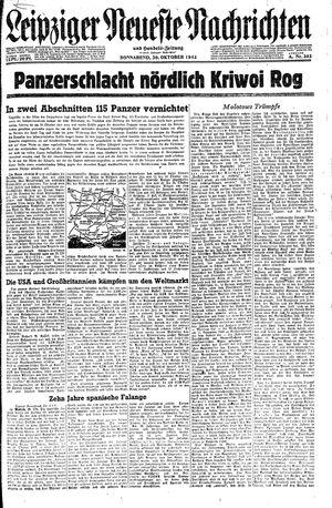 Leipziger neueste Nachrichten und Handelszeitung  on Oct 30, 1943