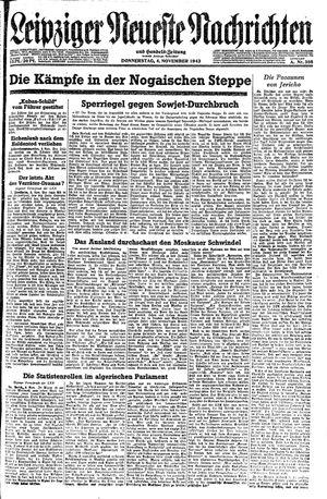Leipziger neueste Nachrichten und Handelszeitung  vom 04.11.1943