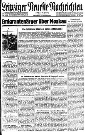 Leipziger neueste Nachrichten und Handelszeitung  on Nov 5, 1943