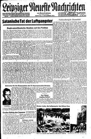 Leipziger neueste Nachrichten und Handelszeitung  vom 07.11.1943