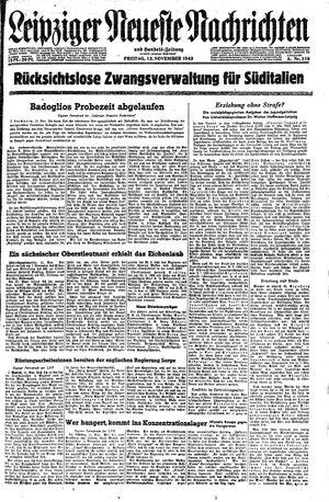 Leipziger neueste Nachrichten und Handelszeitung  vom 12.11.1943