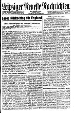 Leipziger neueste Nachrichten und Handelszeitung  on Nov 19, 1943