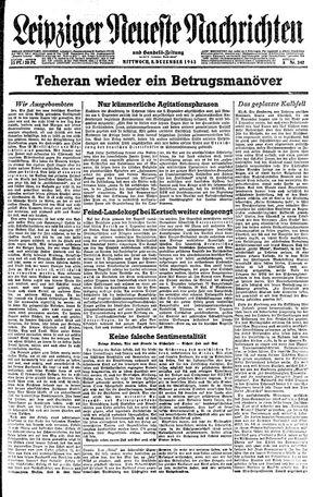 Leipziger neueste Nachrichten und Handelszeitung  on Dec 8, 1943