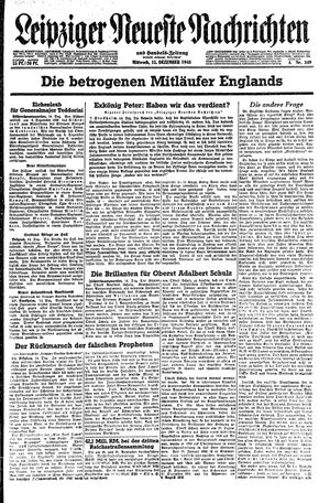 Leipziger neueste Nachrichten und Handelszeitung  on Dec 15, 1943
