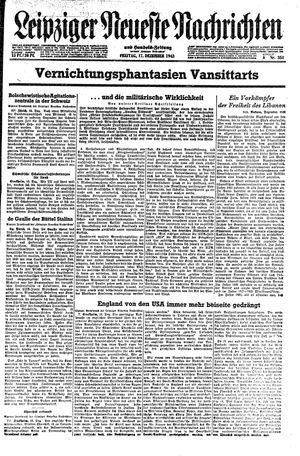 Leipziger neueste Nachrichten und Handelszeitung  vom 17.12.1943
