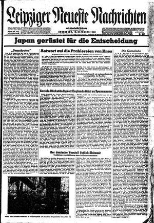 Leipziger neueste Nachrichten und Handelszeitung  vom 18.12.1943