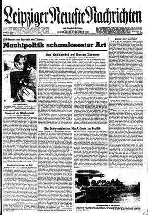 Leipziger neueste Nachrichten und Handelszeitung  vom 20.12.1943