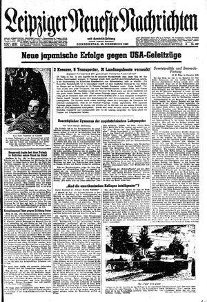 Leipziger neueste Nachrichten und Handelszeitung  vom 23.12.1943