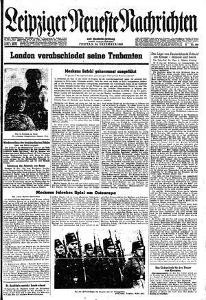 Leipziger neueste Nachrichten und Handelszeitung  on Dec 24, 1943