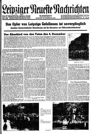 Leipziger neueste Nachrichten und Handelszeitung  on Dec 27, 1943