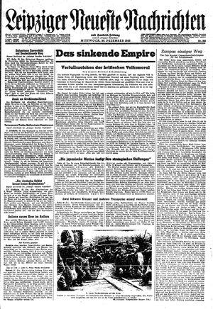 Leipziger neueste Nachrichten und Handelszeitung  on Dec 29, 1943