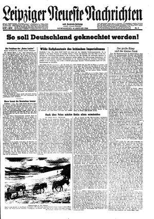 Leipziger neueste Nachrichten und Handelszeitung  on Jan 8, 1944
