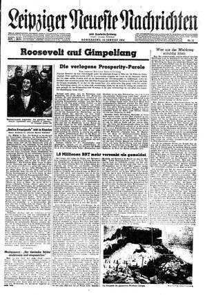 Leipziger neueste Nachrichten und Handelszeitung  on Jan 15, 1944