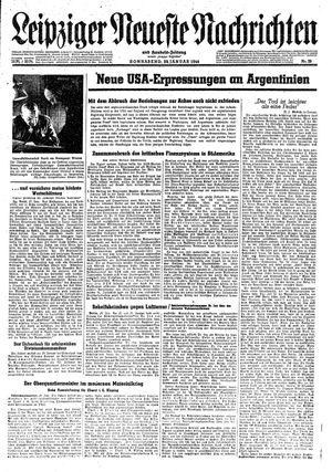 Leipziger neueste Nachrichten und Handelszeitung  on Jan 29, 1944