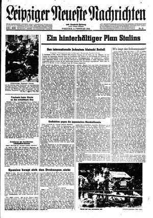 Leipziger neueste Nachrichten und Handelszeitung  on Feb 4, 1944