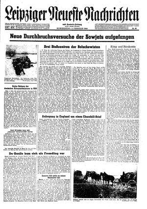Leipziger neueste Nachrichten und Handelszeitung  vom 05.02.1944
