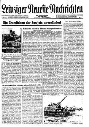 Leipziger neueste Nachrichten und Handelszeitung  on Feb 6, 1944