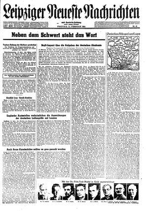 Leipziger neueste Nachrichten und Handelszeitung  vom 11.02.1944