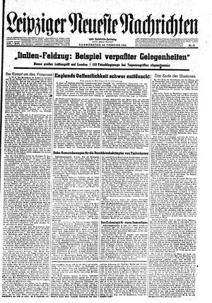 Leipziger neueste Nachrichten und Handelszeitung  vom 24.02.1944