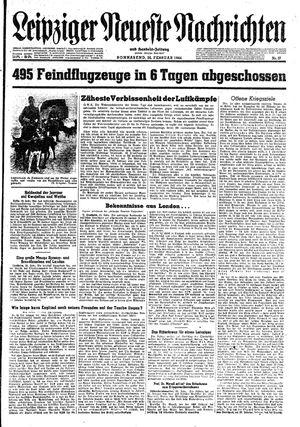 Leipziger neueste Nachrichten und Handelszeitung  vom 26.02.1944