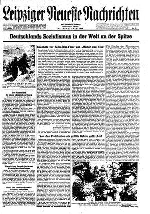 Leipziger neueste Nachrichten und Handelszeitung  vom 01.03.1944