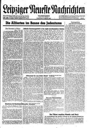 Leipziger neueste Nachrichten und Handelszeitung  vom 03.03.1944