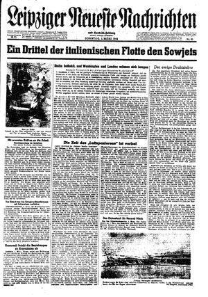 Leipziger neueste Nachrichten und Handelszeitung  vom 05.03.1944