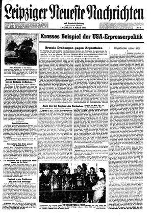 Leipziger neueste Nachrichten und Handelszeitung  vom 06.03.1944