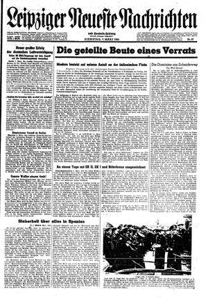 Leipziger neueste Nachrichten und Handelszeitung  on Mar 7, 1944