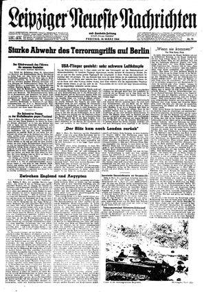 Leipziger neueste Nachrichten und Handelszeitung  vom 10.03.1944