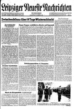 Leipziger neueste Nachrichten und Handelszeitung  vom 14.03.1944