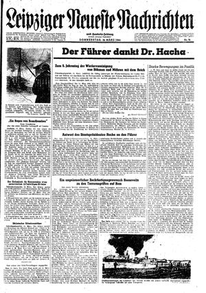 Leipziger neueste Nachrichten und Handelszeitung  vom 16.03.1944