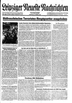 Leipziger neueste Nachrichten und Handelszeitung  on Mar 17, 1944