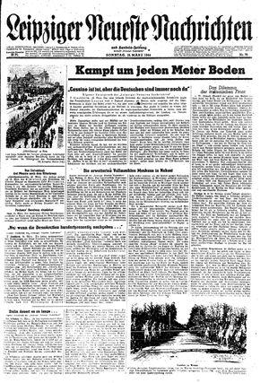 Leipziger neueste Nachrichten und Handelszeitung  vom 19.03.1944