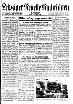 Leipziger neueste Nachrichten und Handelszeitung  vom 20.03.1944