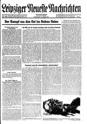 Leipziger neueste Nachrichten und Handelszeitung  on Mar 21, 1944