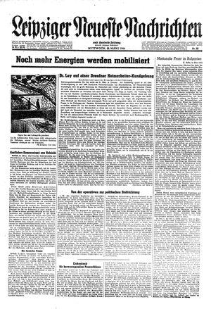 Leipziger neueste Nachrichten und Handelszeitung  vom 22.03.1944