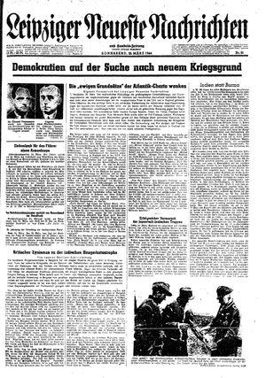 Leipziger neueste Nachrichten und Handelszeitung  vom 25.03.1944