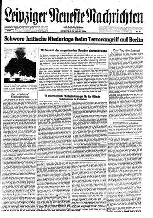 Leipziger neueste Nachrichten und Handelszeitung  vom 26.03.1944