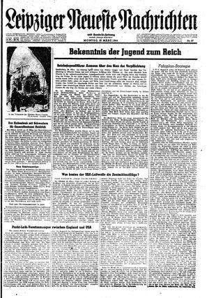 Leipziger neueste Nachrichten und Handelszeitung  on Mar 27, 1944