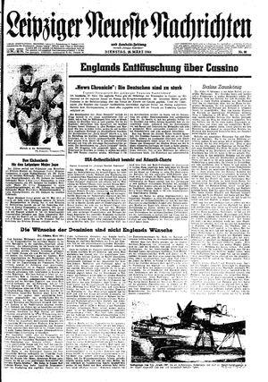 Leipziger neueste Nachrichten und Handelszeitung  vom 28.03.1944